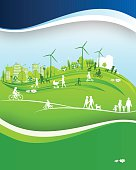 Sustainable City. EPS 10.