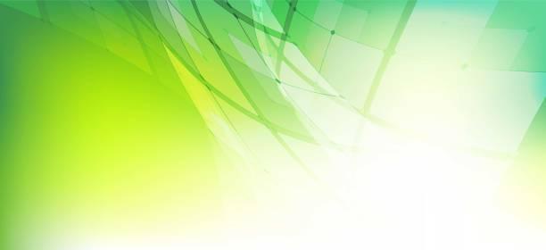 stockillustraties, clipart, cartoons en iconen met groene kleur cirkelvorm technologie abstracte achtergrond - green background