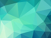 istock green color geometric mosaic background 923315920