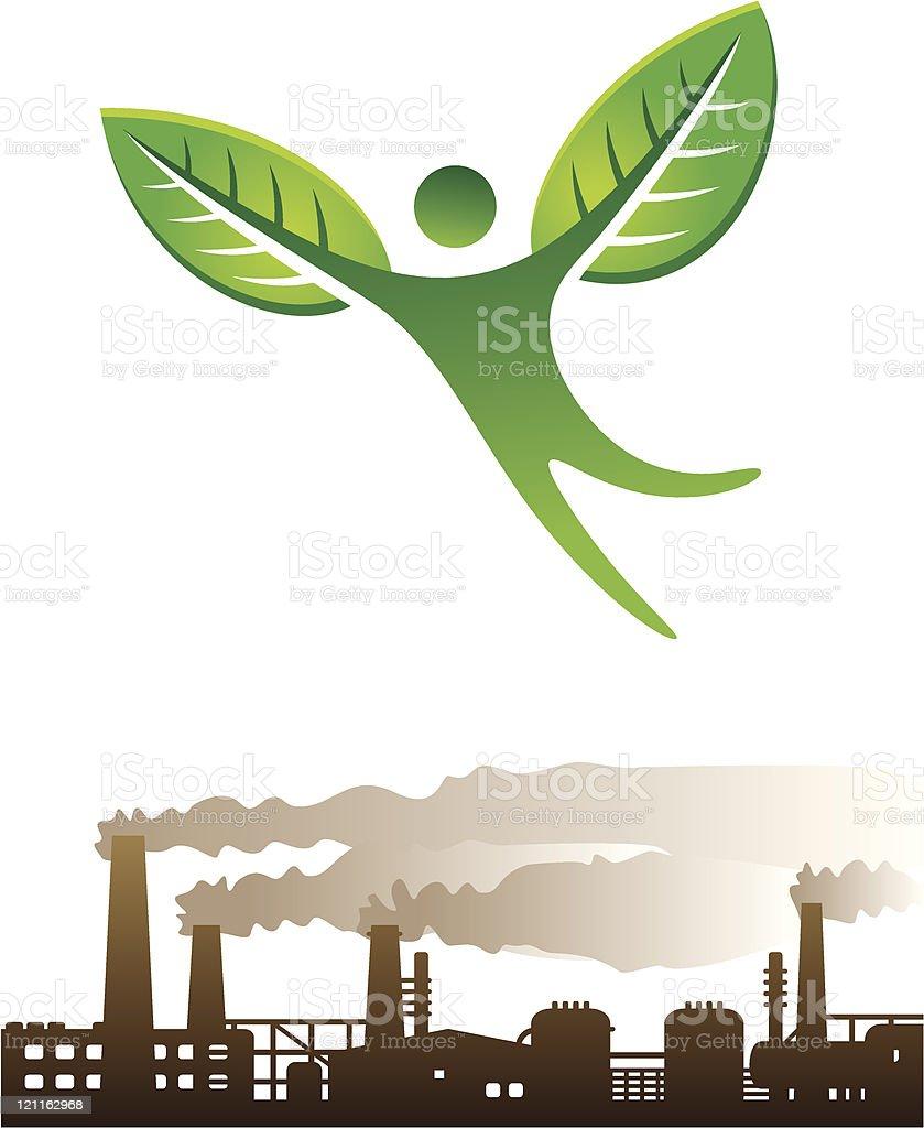 Green concept 3 royalty-free stock vector art