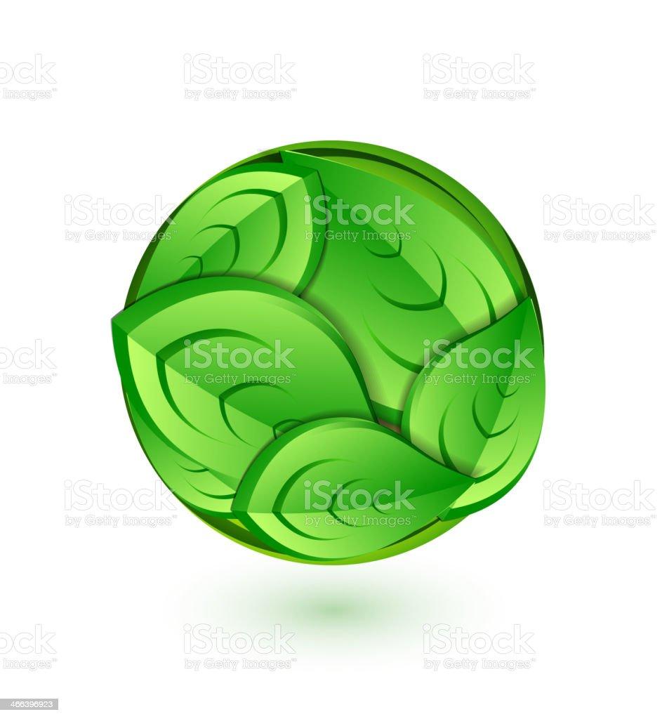 Green concept royalty-free stock vector art