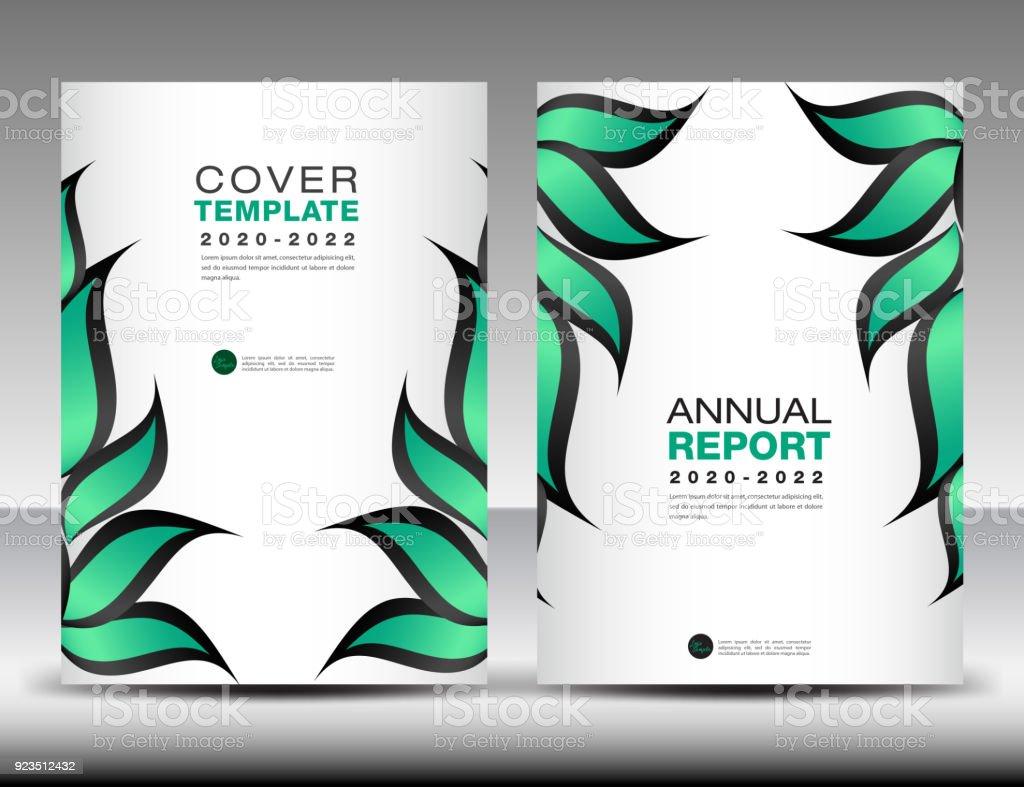 Ilustración de Vector De Plantilla De Diseño De Verde Cubre Idea ...