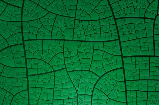 Green crackle