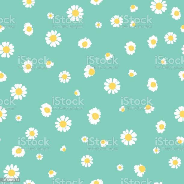 Green daisies ditsy vector seamless pattern design vector id951364744?b=1&k=6&m=951364744&s=612x612&h=k4vtg8habhwgwy30x9gijpxhgzhptrfvpp5vqvgqmjm=