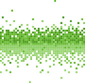 green data flowing background