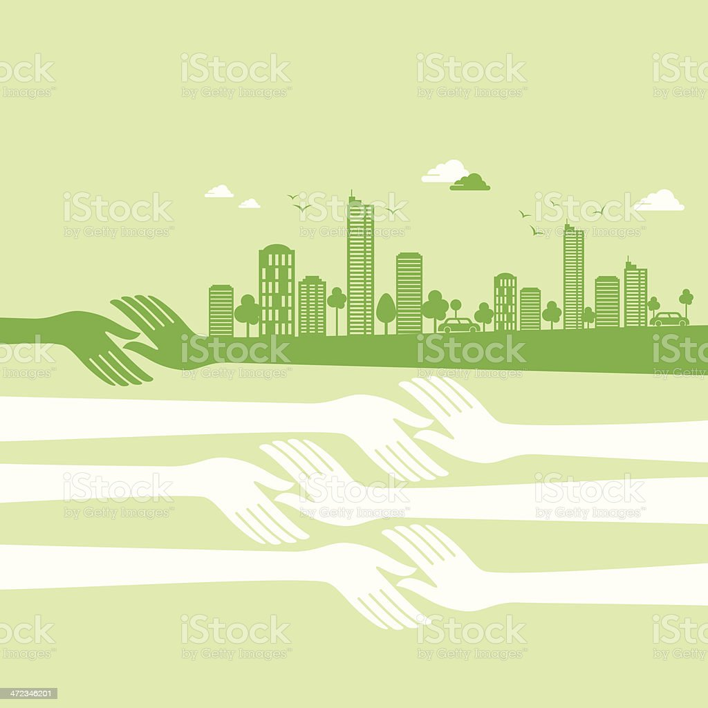 green earth- ecology concept royalty-free green earth ecology concept stock vector art & more images of apartment