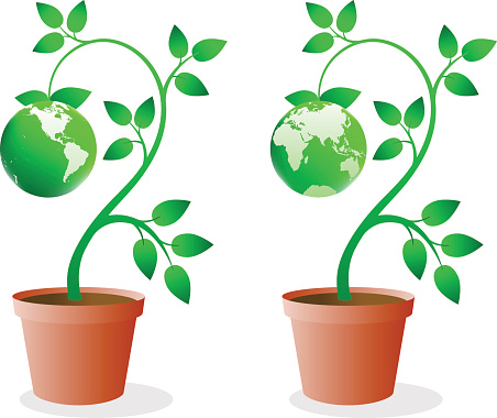 Green Earth ~ Vector