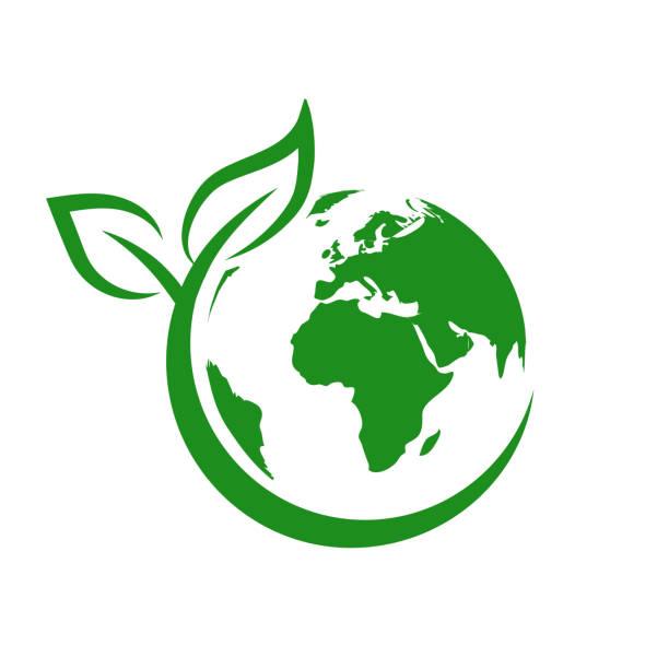 stockillustraties, clipart, cartoons en iconen met groene aarde, wereldmilieudag, concept van het redden van de planeet – stock vector - klimaat