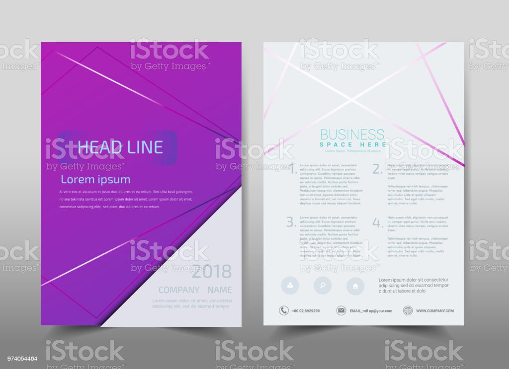 Green Ecology Design On Backgroundbrochure Template Layoutcover