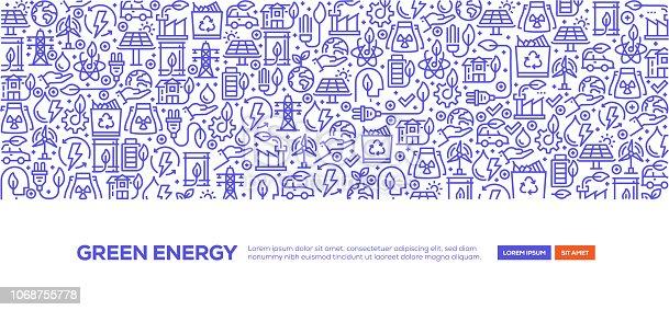 Green Energy Banner