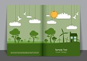 Green Energy Cover design