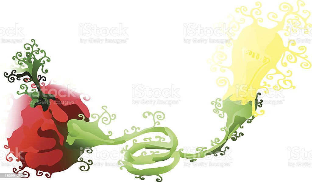 Green Energy from Nature royalty-free stock vector art