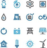 Green Energy Icons - Conc Series