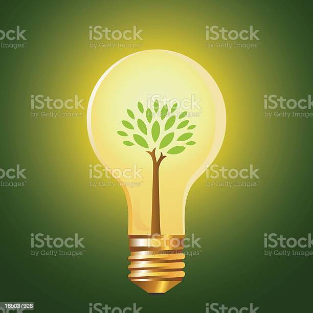 Green Energy Stock Illustration - Download Image Now