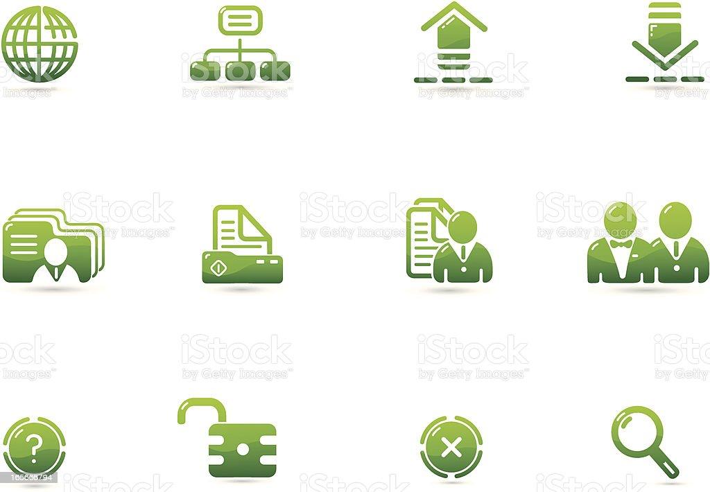 Green Environment Icon | Verde Series vector art illustration