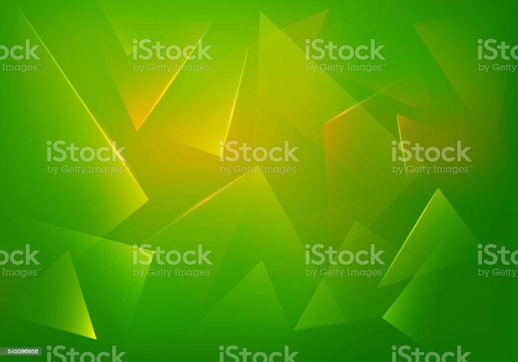 Green Explosion Illustration. Vector Abstract Background. vector art illustration