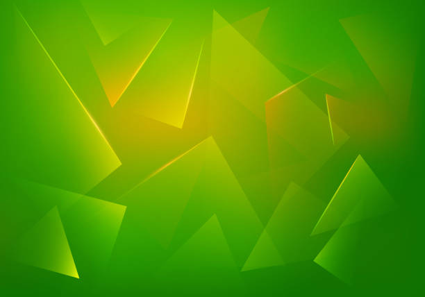 Green Explosion Illustration. Vector Abstract Background. Green Explosion Illustration. Vector Abstract Background. Broken Glass Texture. Abstract 3d Bg for Night Party Posters, Banners or Advertisements. jello stock illustrations