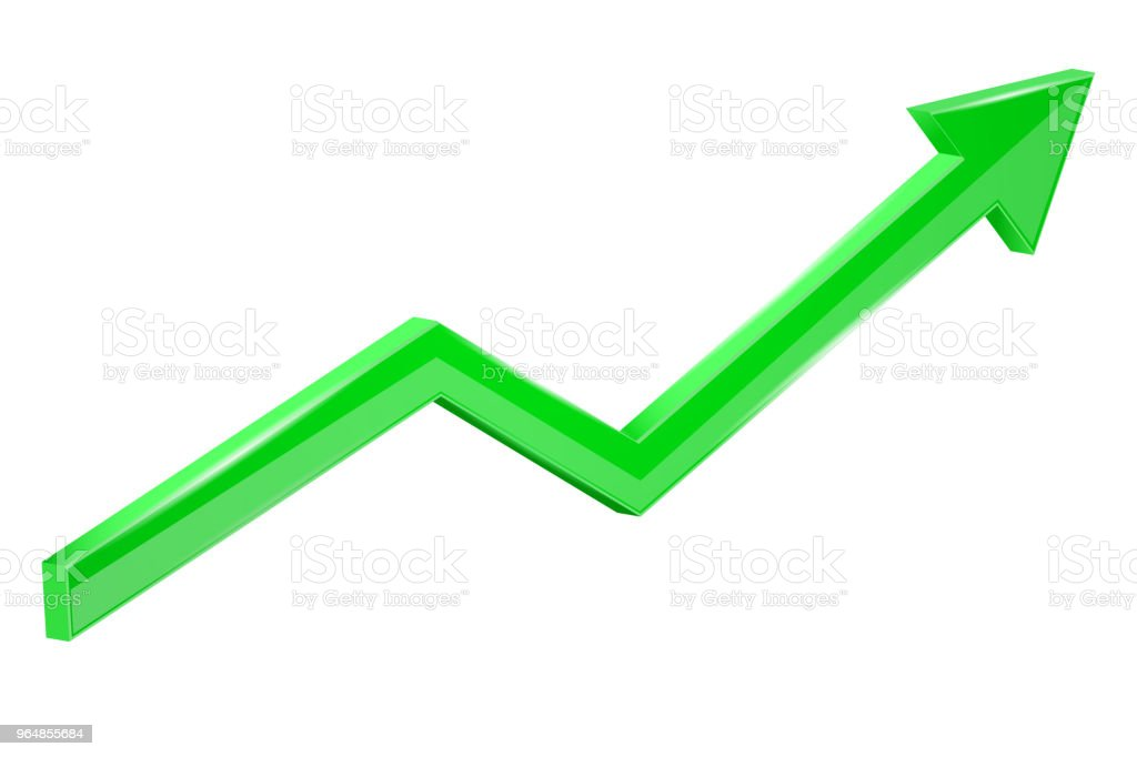 Green financial up moving arrow. Rising trend royalty-free green financial up moving arrow rising trend stock vector art & more images of arrow symbol