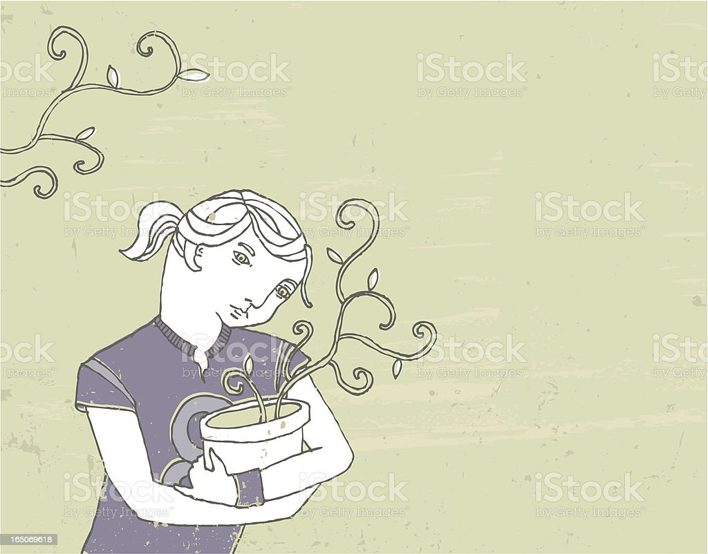 green fingers royalty-free green fingers stock vector art & more images of adolescence