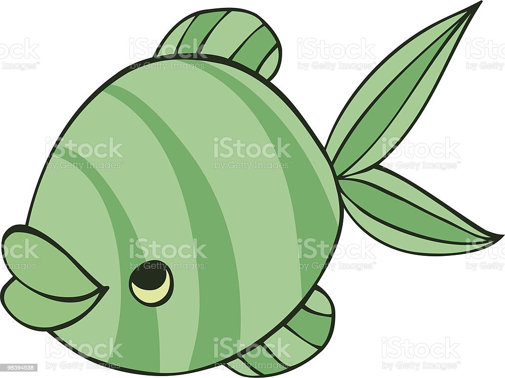 green fish royalty-free green fish stock vector art & more images of animal fin