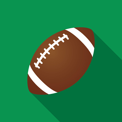 Green Football Icon