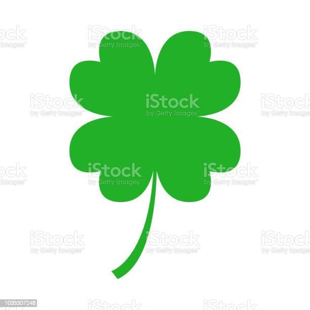 Green four leaf clover on white background vector vector id1033307248?b=1&k=6&m=1033307248&s=612x612&h=kd5qy s 4t37spg3kja rfytre8lowsypp myz0uyk8=