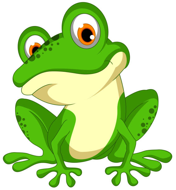 Royalty free frog clip art vector images illustrations