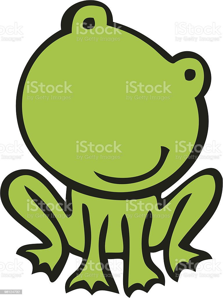 green frog royalty-free green frog stock vector art & more images of amphibian