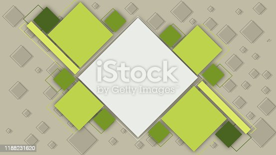 green futuristic technology abstract background