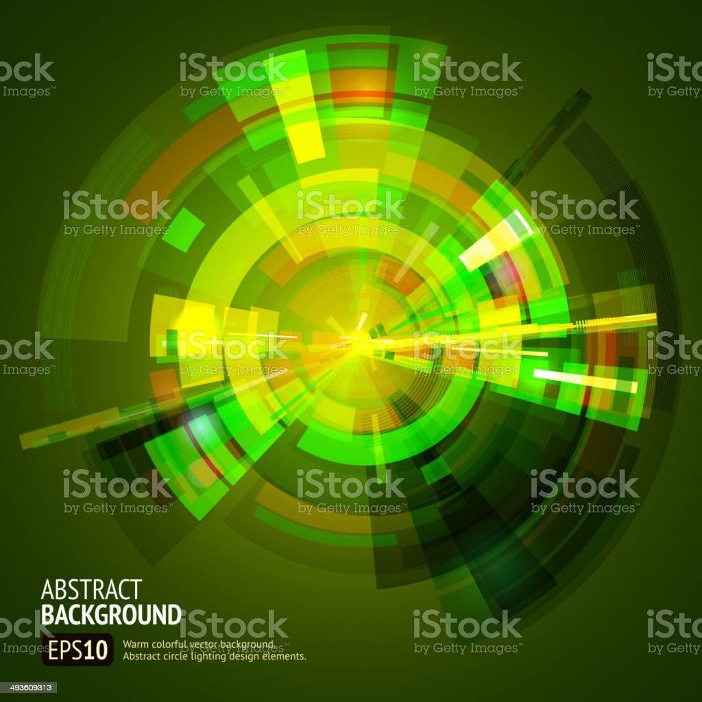 Green gamma abstract circle background royalty-free green gamma abstract circle background stock vector art & more images of abstract