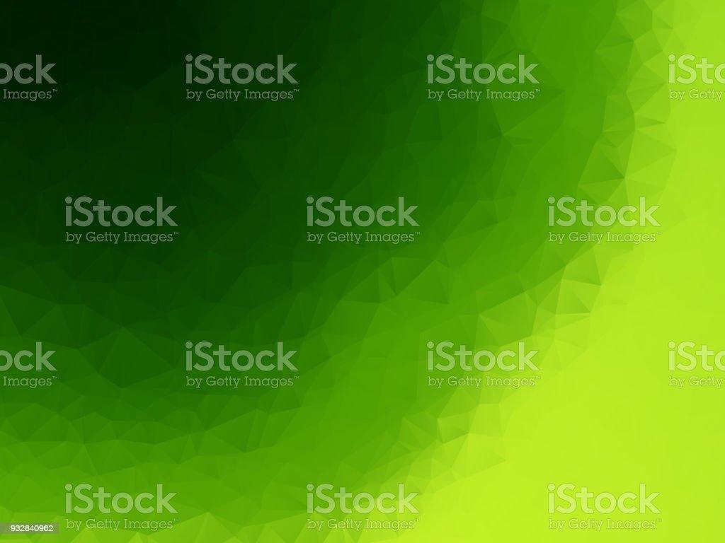 green geometric texture pattern vector art illustration