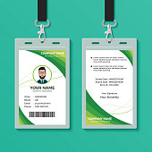Creative ID card for your company
