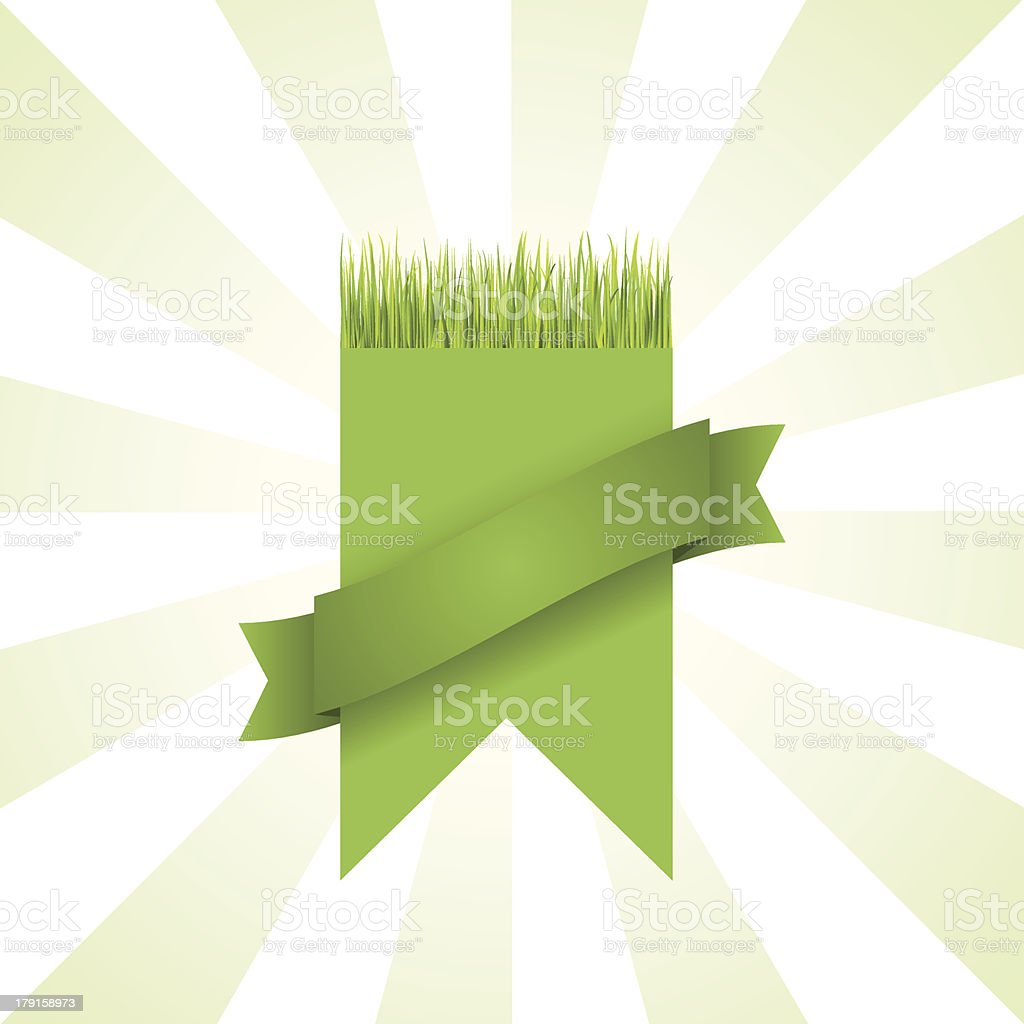 Green grass banner royalty-free green grass banner stock vector art & more images of backgrounds