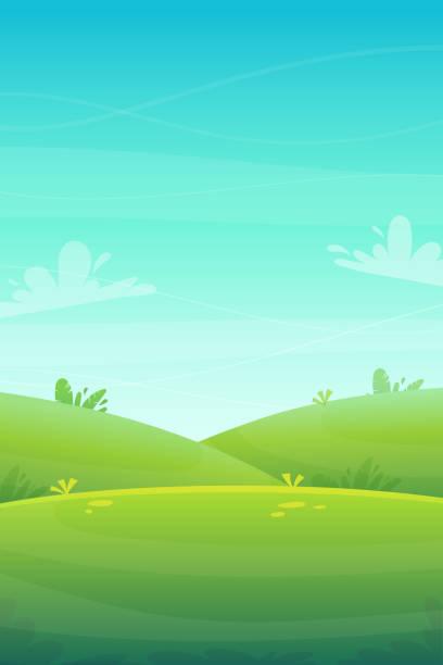 ilustraciones, imágenes clip art, dibujos animados e iconos de stock de barbacoa de césped verde en el parque o árboles forestales y arbustos flores paisaje fondo, naturaleza césped ecología paz ilustración vector de la naturaleza del bosque feliz picnic divertido estilo de dibujos animados paisaje - backyard