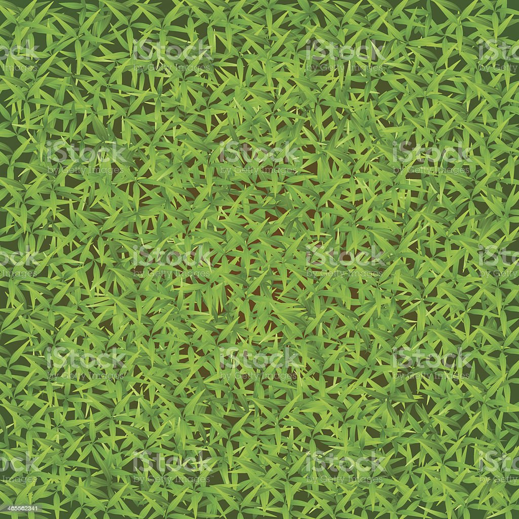 Green grass field vector art illustration