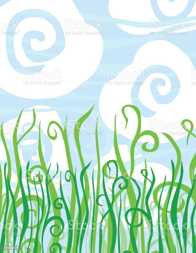 Green Grass royalty-free green grass stock vector art & more images of art