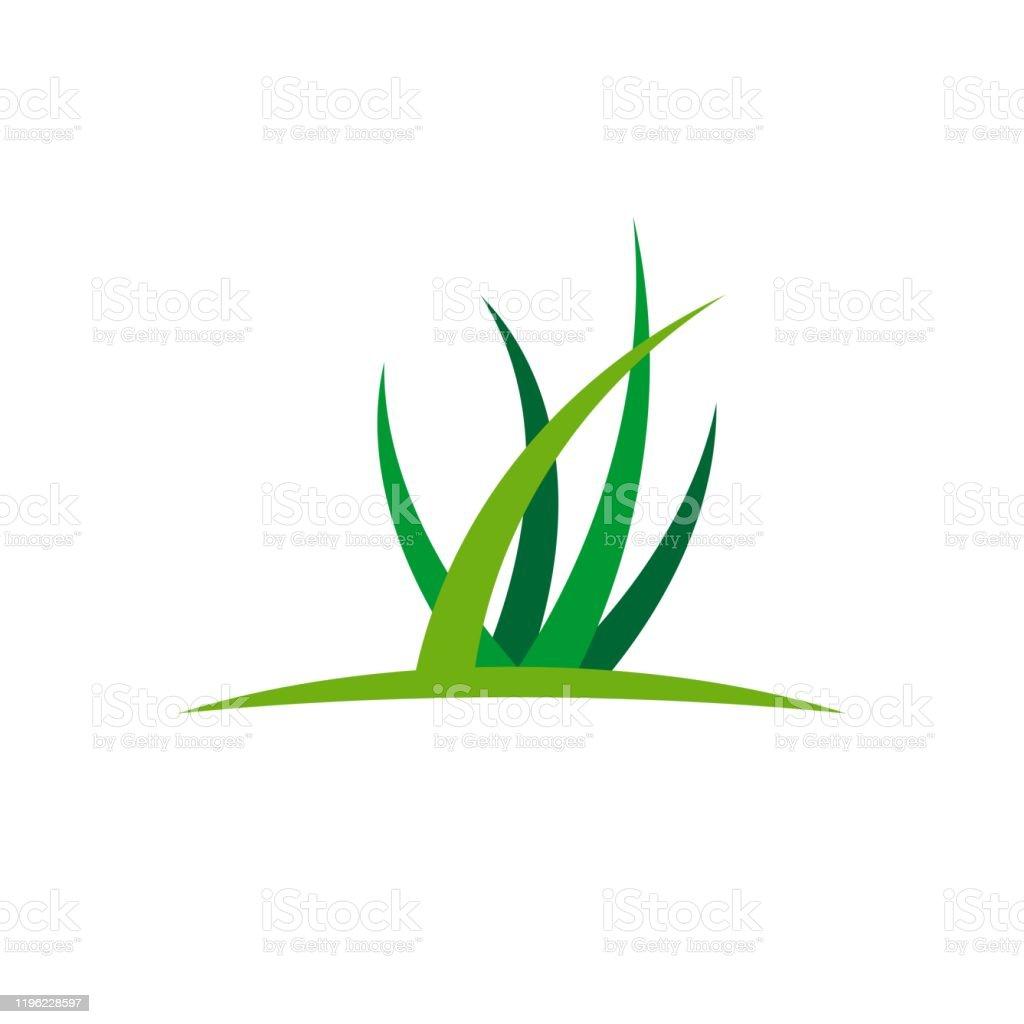 green grass vector logo template illustration design vector eps 10 stock illustration download image now istock green grass vector logo template illustration design vector eps 10 stock illustration download image now istock