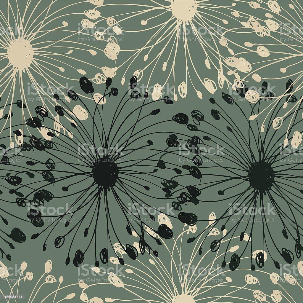 Green grunge circle pattern royalty-free stock vector art