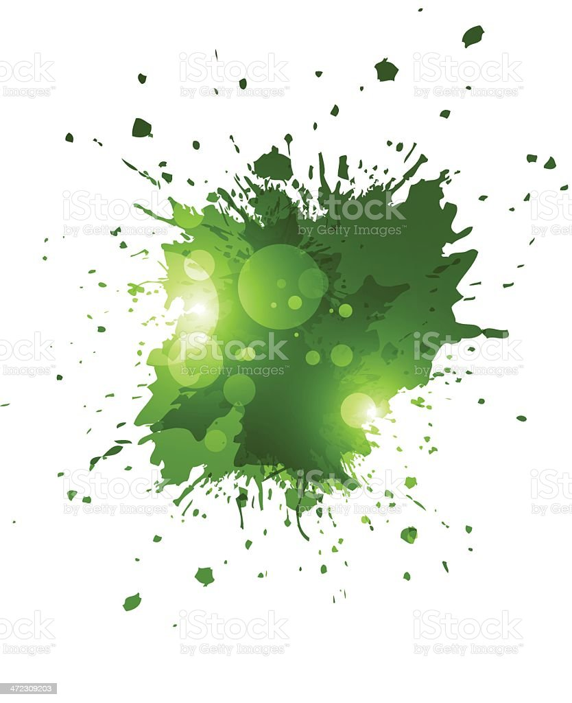 Green grunge splashes royalty-free green grunge splashes stock vector art & more images of abstract