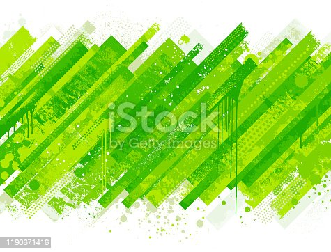 Modern bright abstract grunge vector background