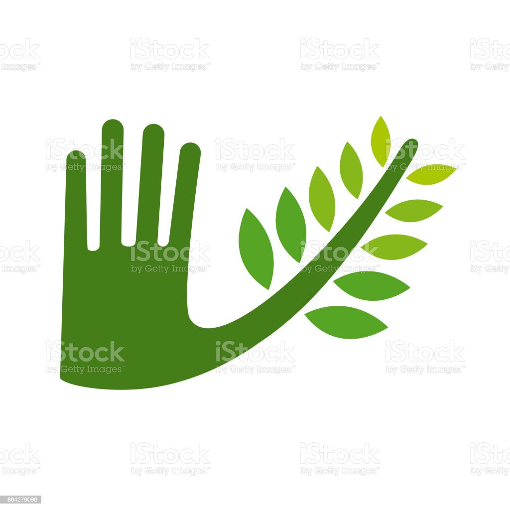 Green hand royalty-free green hand stock vector art & more images of chile