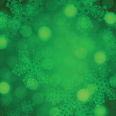 Green Holiday Background Abstract