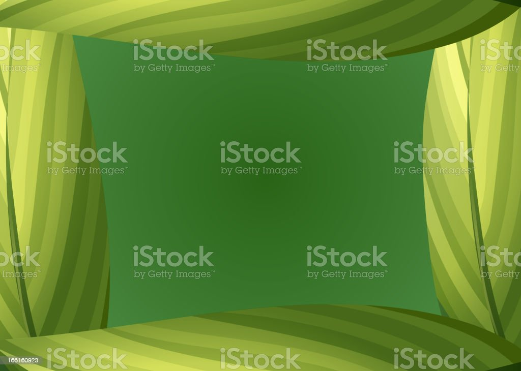 Green leafy border royalty-free green leafy border stock vector art & more images of at the edge of