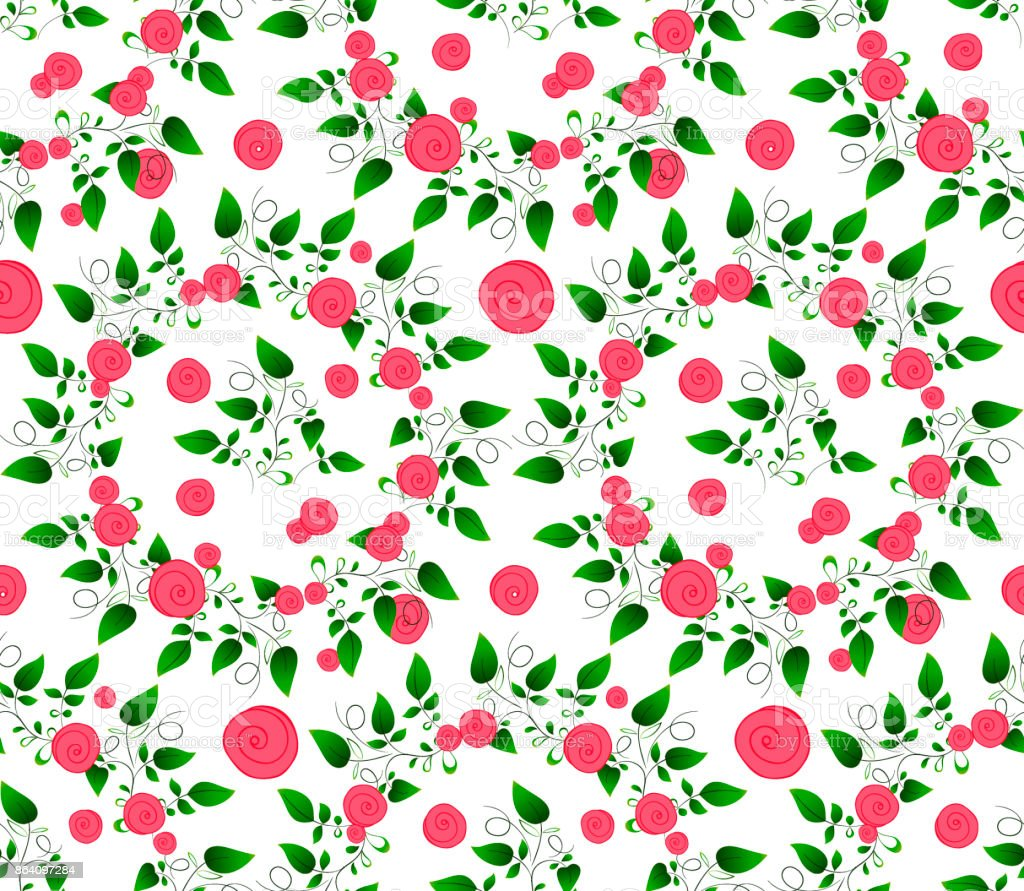green leaves and roses royalty-free green leaves and roses stock vector art & more images of art