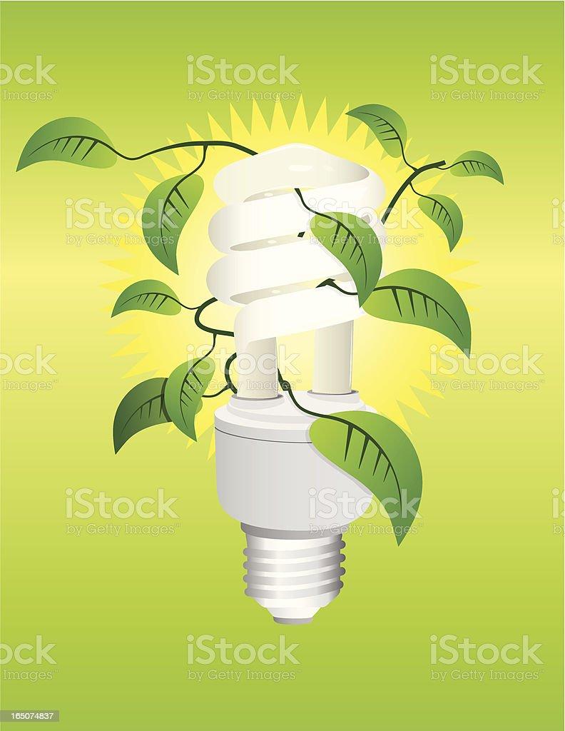 Green Lighting royalty-free stock vector art