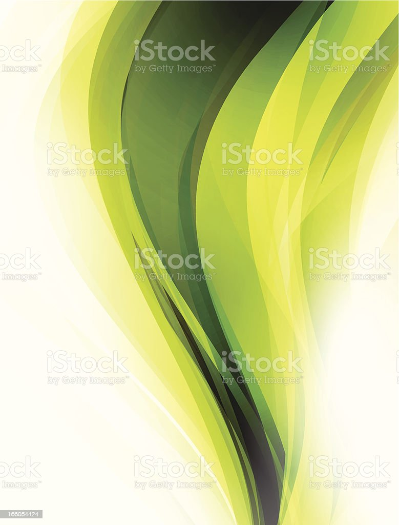 Green lines royalty-free stock vector art