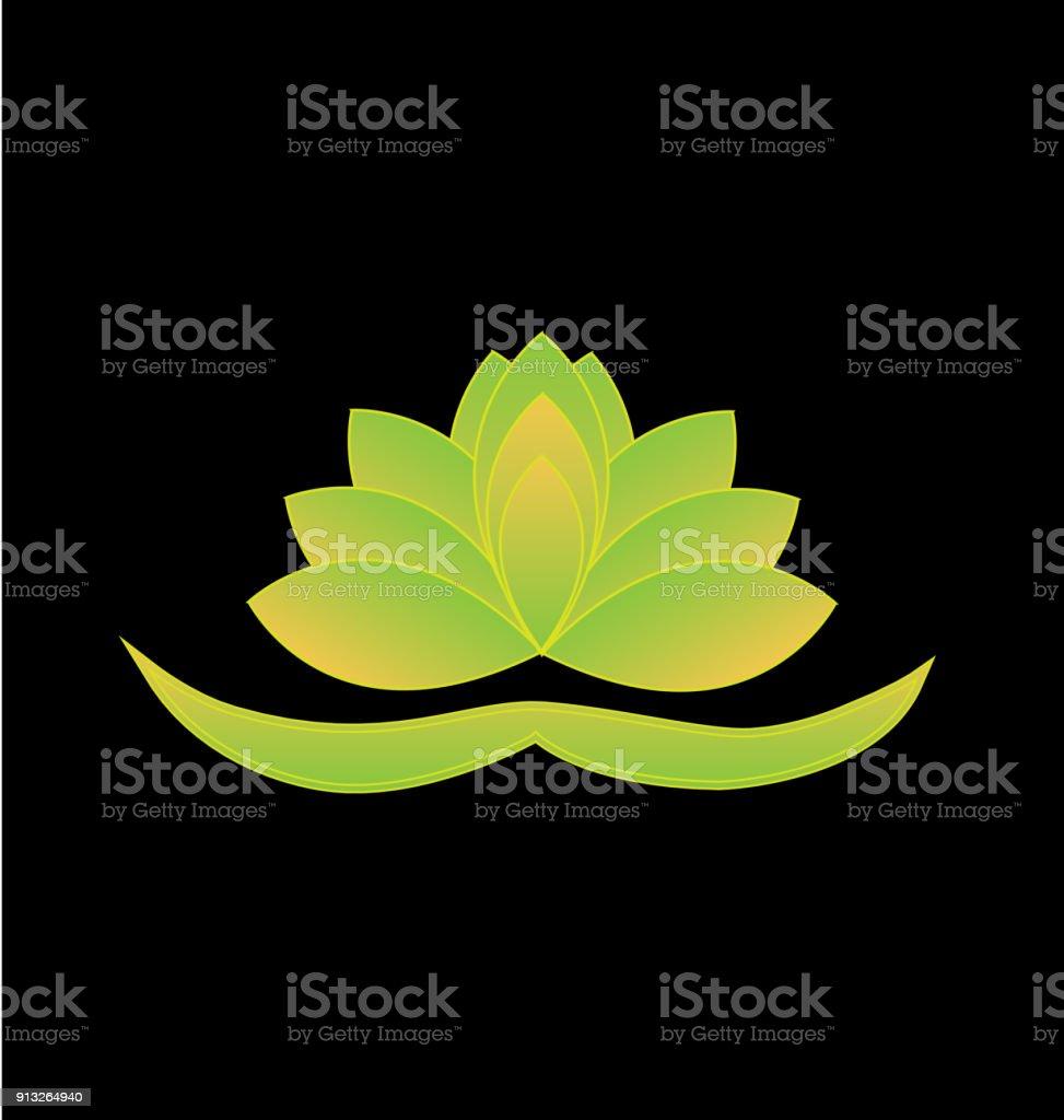 Green lotus flower vector icon background yoga symbol stock vector green lotus flower vector icon background yoga symbol royalty free green lotus flower vector izmirmasajfo Gallery