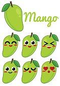 Green Mango Character