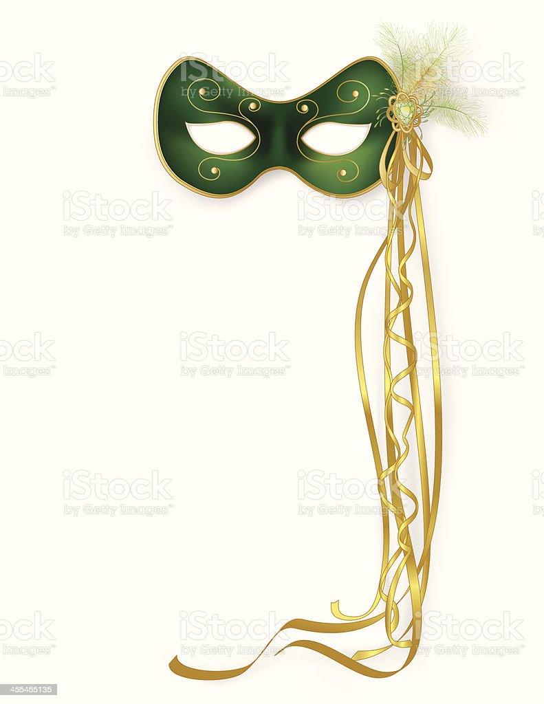 Green Mask royalty-free green mask stock vector art & more images of backgrounds