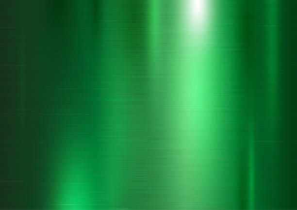 ilustracja wektora wektora tła zielonej metalowej tekstury - metal stock illustrations